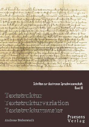 Textstruktur – Textstrukturvariation – Textstrukturmuster von Bieberstedt,  Andreas