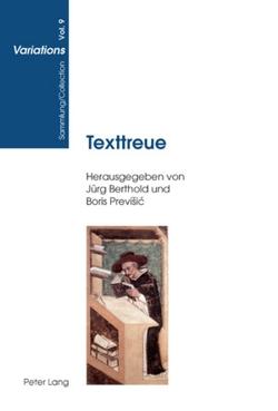 Texttreue von Berthold,  Jürg, Previšic,  Boris
