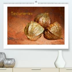 Texturiertes (Premium, hochwertiger DIN A2 Wandkalender 2021, Kunstdruck in Hochglanz) von Buch,  Monika