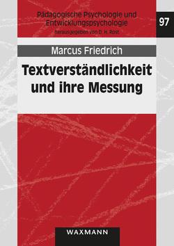 Textverständlichkeit und ihre Messung von Friedrich,  Marcus