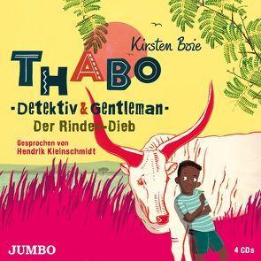 Thabo. Detektiv & Gentleman. Der Rinder-Dieb von Boie,  Kirsten, Kleinschmidt,  Hendrik