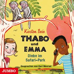 Thabo und Emma. Diebe im Safari-Park [1] [ungekürzt] von Boie,  Kirsten, Menrad,  Karl