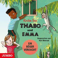 Thabo und Emma. Ein böser Verdacht von Boie,  Kirsten, Menrad,  Karl