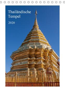 Thailändische Tempel (Tischkalender 2020 DIN A5 hoch) von Leonhardy,  Thomas