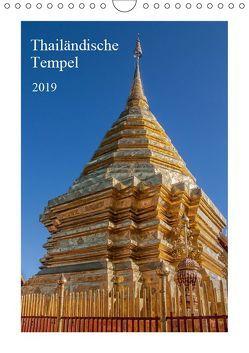 Thailändische Tempel (Wandkalender 2019 DIN A4 hoch) von Leonhardy,  Thomas