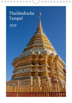 Thailändische Tempel (Wandkalender 2020 DIN A4 hoch) von Leonhardy,  Thomas