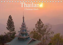 Thailand Christian Heeb (Tischkalender 2018 DIN A5 quer) von Heeb,  Christian