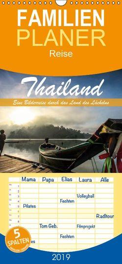 Thailand – Eine Bilderreise durch das Land des Lächelns – Familienplaner hoch (Wandkalender 2019 , 21 cm x 45 cm, hoch) von Weber,  Levent