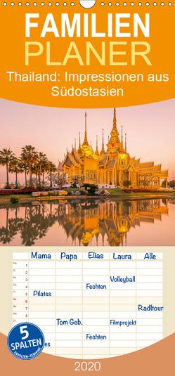 Thailand: Impressionen aus Südostasien – Familienplaner hoch (Wandkalender 2020 , 21 cm x 45 cm, hoch) von CALVENDO