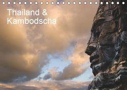 Thailand & Kambodscha (Tischkalender 2019 DIN A5 quer) von / Klaus Steinkamp,  McPHOTO