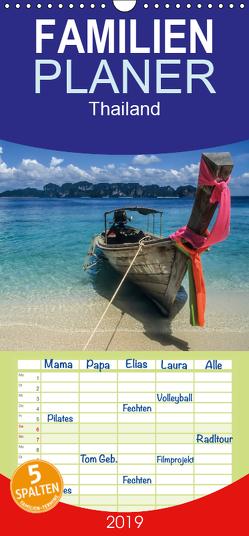 Thailand – Traumstrände und Tempel – Familienplaner hoch (Wandkalender 2019 , 21 cm x 45 cm, hoch) von Mueringer,  Christian