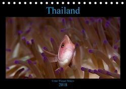 Thailand – Unter Wasser Makro (Tischkalender 2018 DIN A5 quer) von schmidt xway-image.de,  ralf