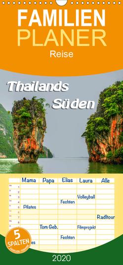 Thailands Süden – Familienplaner hoch (Wandkalender 2020 , 21 cm x 45 cm, hoch) von Weiss,  Michael