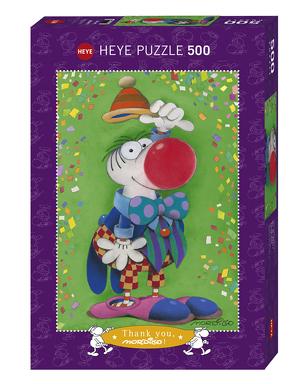 Thank You! Puzzle von Mordillo,  Guillermo