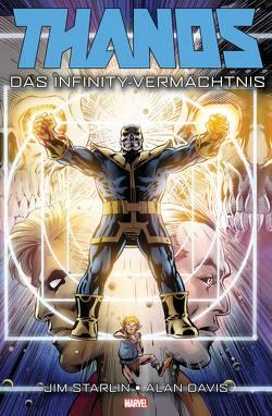 Thanos: Das Infinity-Vermächtnis von Davis,  Alan, Rösch,  Alexander, Starlin,  Jim