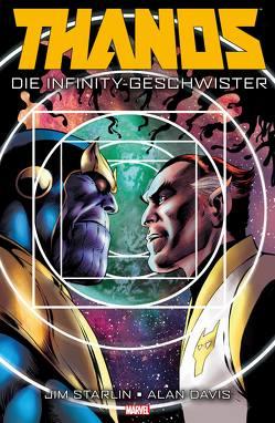 Thanos: Die Infinity Geschwister von Davis,  Alan, Starlin,  Jim
