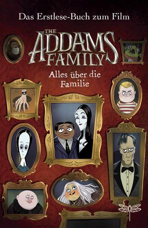 The Addams Family – Alles über die Familie. Das Erstlese-Buch zum Film von Marlin,  Lissy, Schlitt,  Christine, West,  Alexandra