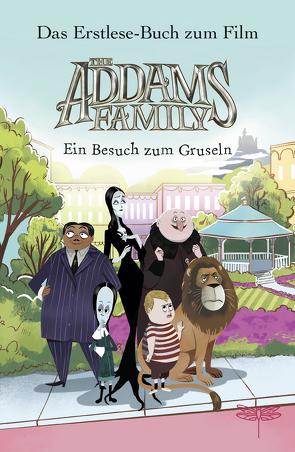 The Addams Family – Ein Besuch zum Gruseln. Das Erstlese-Buch zum Film von Marlin,  Lissy, Schlitt,  Christine, West,  Alexandra