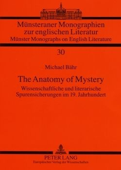 The Anatomy of Mystery von Bähr,  Michael