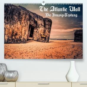The Atlantic Wall – Die Houvig Festung 2021 (Premium, hochwertiger DIN A2 Wandkalender 2021, Kunstdruck in Hochglanz) von Bösecke,  Klaus