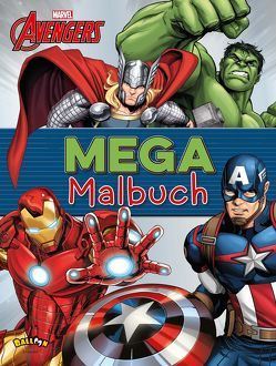 The Avengers – Mega-Malbuch