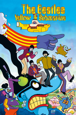 The Beatles: Yellow Submarine – Die Graphic Novel von Kronsbein,  Bernd, Morrison,  Bill