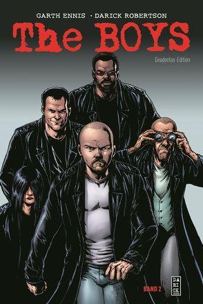 The Boys: Gnadenlos-Edition von Ennis,  Garth, Higgins,  John B., Kronsbein,  Bernd, Robertson,  Darick