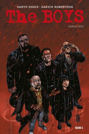 The Boys: Gnadenlos-Edition von Braun,  Russell, Burns,  Keith, Clark,  Richard P., Ennis,  Garth, Kronsbein,  Bernd, McCrea,  John, Robertson,  Darick