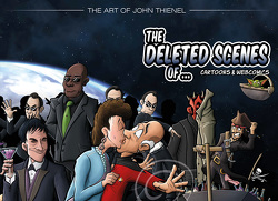 The Deleted Scenes of Cartoons & Webcomics von Bartholomä,  Dirk, Thienel,  John