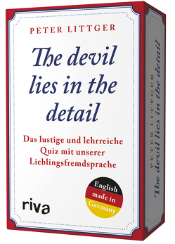 The devil lies in the detail von Littger,  Peter