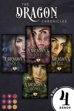 The Dragon Chronicles. Sammelband der gefühlvollen Urban Fantasy Serie für Drachenfans (The Dragon Chronicles ) von Schneeberg,  Solvig