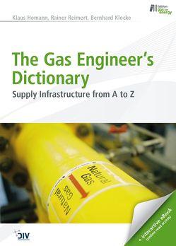 The Gas Engineer's Dictionary von Homann,  Klaus, Klocke,  Bernhard, Reimert,  Rainer