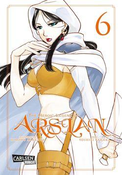 The Heroic Legend of Arslan 6 von Arakawa,  Hiromu, Keller,  Yuko, Tanaka,  Yoshiki