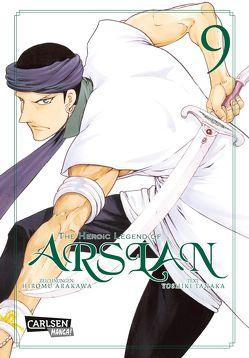 The Heroic Legend of Arslan 9 von Arakawa,  Hiromu, Keller,  Yuko, Tanaka,  Yoshiki