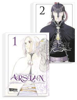 The Heroic Legend of Arslan Doppelpack 1-2 von Arakawa,  Hiromu, Tanaka,  Yoshiki