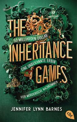 THE INHERITANCE GAMES von Barnes,  Jennifer Lynn, Marinovic,  Ivana