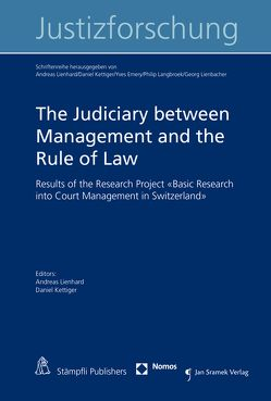 The Judiciary between Management and the Rule of Law von Kettiger,  Daniel, Lienhard,  Andreas