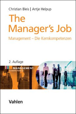 The Manager's Job von Bleis,  Christian, Helpup,  Antje