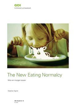 The new eating normalcy von Sigrist,  Stephan
