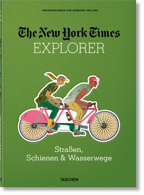 The New York Times Explorer. Road, Rail, & Trail