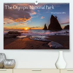 The Olympic National Park – Washington USA (Premium, hochwertiger DIN A2 Wandkalender 2021, Kunstdruck in Hochglanz) von Klinder,  Thomas