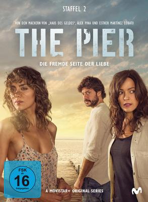 The Pier – Die fremde Seite der Liebe – Staffel 2 (3 DVDs) von Colmenar,  Jesús, Dorado,  Jorge, Rodrigo,  Alex