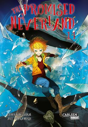 The Promised Neverland 11 von Demizu,  Posuka, Shirai,  Kaiu, Steggewentz,  Luise