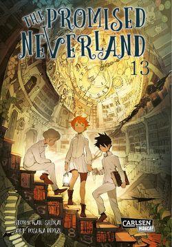 The Promised Neverland 13 von Demizu,  Posuka, Shirai,  Kaiu, Steggewentz,  Luise