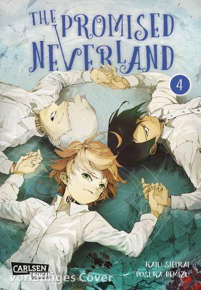 The Promised Neverland 4 von Demizu,  Posuka, Shirai,  Kaiu, Steggewentz,  Luise