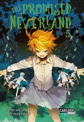 The Promised Neverland 5 von Demizu,  Posuka, Shirai,  Kaiu, Steggewentz,  Luise