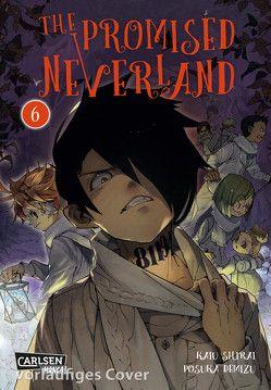 The Promised Neverland 6 von Demizu,  Posuka, Shirai,  Kaiu