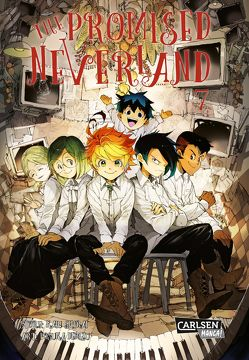 The Promised Neverland 7 von Demizu,  Posuka, Shirai,  Kaiu, Steggewentz,  Luise