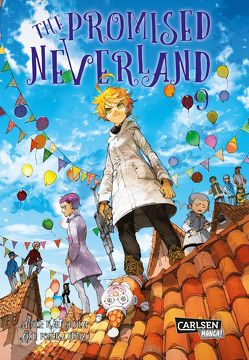 The Promised Neverland 9 von Demizu,  Posuka, Shirai,  Kaiu, Steggewentz,  Luise