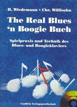 The Real Blues´n Boogie Buch von Wiedemann,  Herbert, Willisohn,  Christian